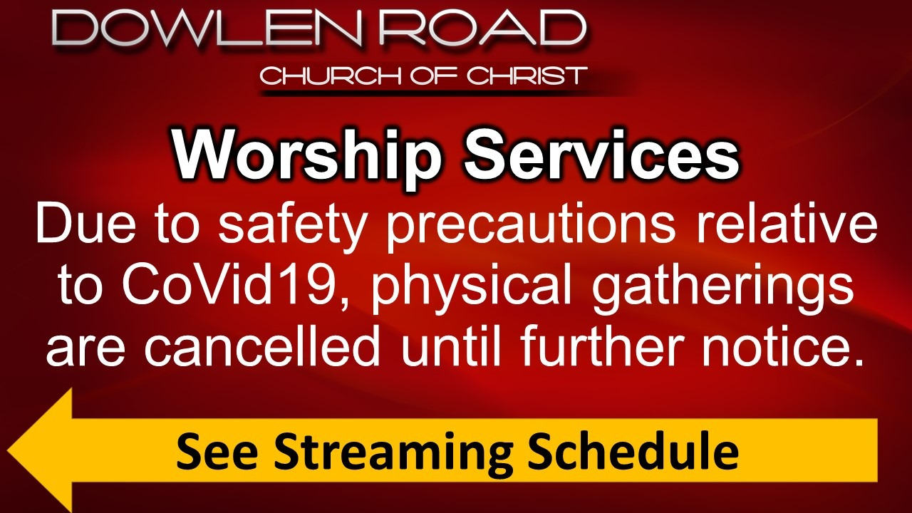 Worship Services schedule031820-2