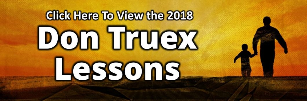 Truex Lessons 2018