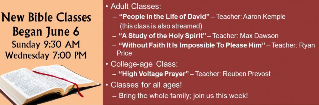 New Classes 2